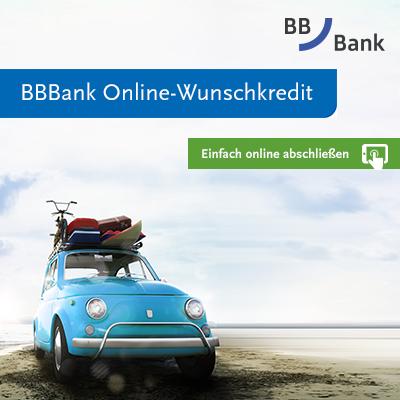 BBBank Wunschkredit